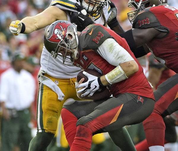 More Anemic Offense By Bucs Against Packers