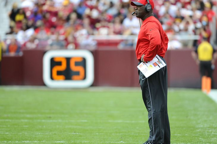 Monday Column: It's Time For Lovie Smith To Go