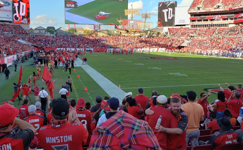 My Day at Ray-Jay: Bucs Rally PastColts
