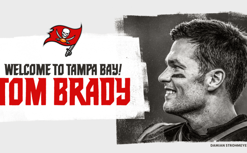 It's Official: Brady to the Bucs